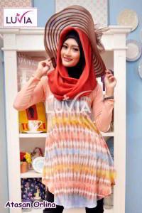 Model Baju Atasan Muslimah Berbagai Desain Terbaru 2015