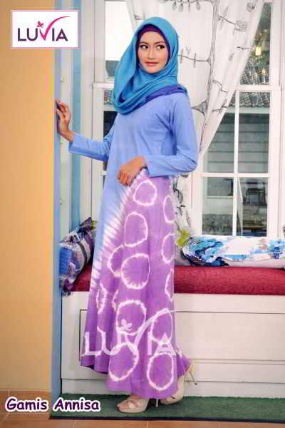 Busana Gamis Muslimah