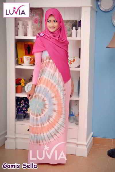 Model Gamis Muslimah Terbaru dan Terjangkau - RP.50Rb Model Baju ... 3996270d1b