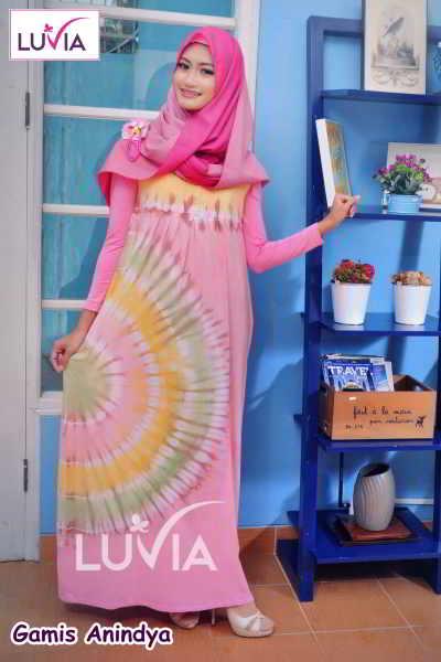 Gamis Muslimah Elegan Anindya Model Baju