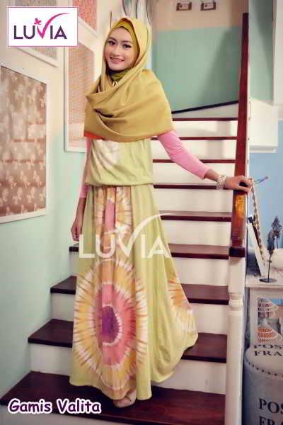 Harga Gamis Muslimah Valita Model Baju Muslimah