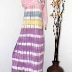 busana gamis batik