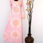 gamis batik kombinasi