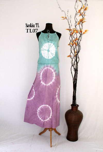 Gamis Dari Batik Saskia Model Baju Muslimah
