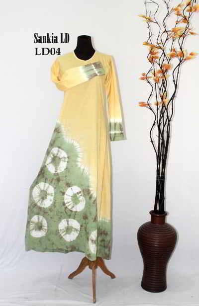Model Gamis Batik Terbaru Saskia Model Baju