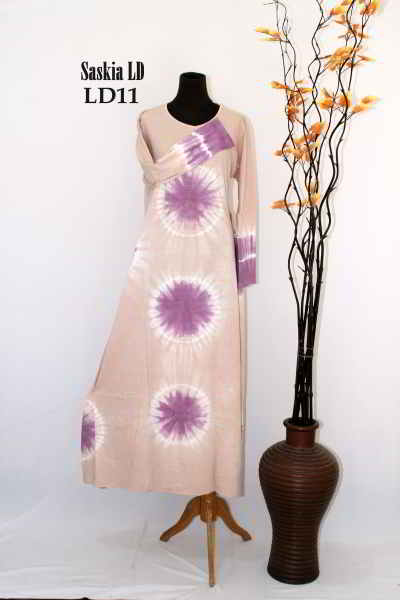 baju batik muslim terbaru