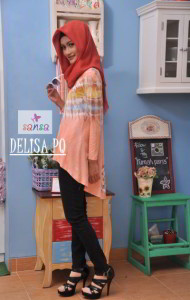Model Gamis Cardigan Muslimah Panjang Murah Terbaru