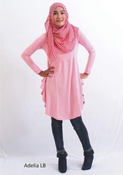 Model Baju Atasan Muslim Terbaru 2015 Model Baju