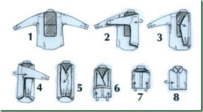 Cara Melipat Baju Lengan Panjang dan Pendek