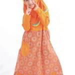 Gamis  Anak Batik Muslimah Perempuan
